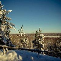 Вид с горы Сампо :: Татьяна Гилепп