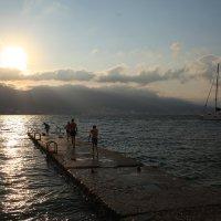 Летнее утро на пляже :: Константин Николаенко