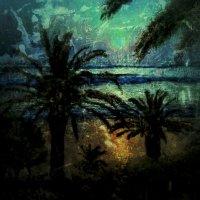Восход Зеленой Луны :: Ирина Сивовол