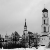 monastery bw :: Дмитрий Чулков