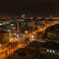 February evening in the city :: Дмитрий Карышев