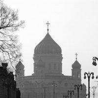 вид на Москву с берега Москвы (-2) :: Максим Должанский