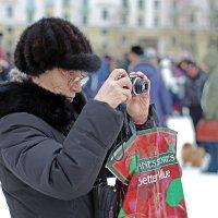 Северодвинск. Масленица. Чётко снимает :: Владимир Шибинский