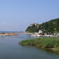 Впадение реки Вулан  в море :: Наталья Гусева