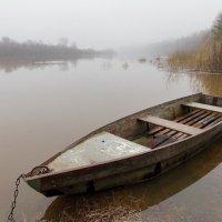 Туман на реке :: Валентин Котляров
