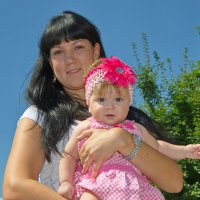 Малышка с крёстной. :: Раскосов Николай