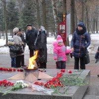 Великие Луки, 23 февраля... :: Владимир Павлов