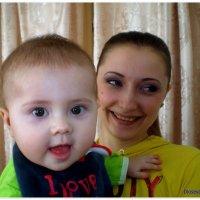 Альбинка с мамой :: Татьяна Пальчикова