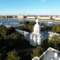 Питер с высоты Смольного собора :: Николай Танаев
