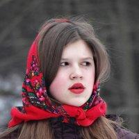 лица с Масленицы :: Михаил Жуковский