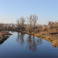 Смотрю я в зеркало реки и получаю наслажденье. :: Валентина ツ ღ✿ღ