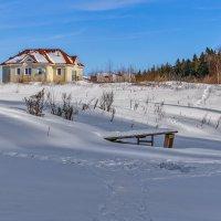 Зима в дачном поселке. :: Эдуард Пиолий