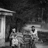 таджикский поселок в Казахстане :: Адильхан А
