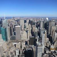 Вид на Нью-Йорк с крыши Empire State Building :: Василий С