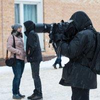 Снег дождь нипочем!! :: Иван Щербина