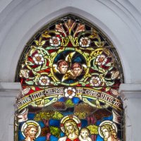 Витраж в британском колониальном католическом храме. :: Edward J.Berelet