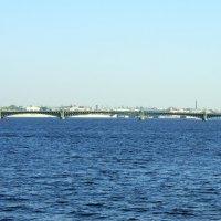 Троицкий (Кировский) мост :: Валерий Новиков