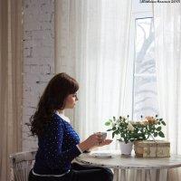 За чашечкой... :: Анастасия Михалева
