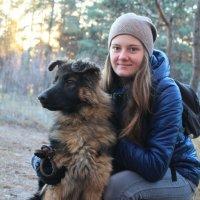 Рита и ее верная подруга Асти :: Наталья Шелыганова