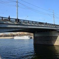 Новоспасский мост. :: Oleg4618 Шутченко