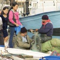торговля в порту Яффо :: Адик Гольдфарб