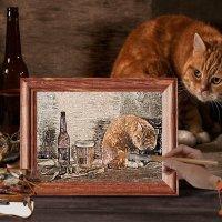 Нарисованный кот :: Алексей Яшин