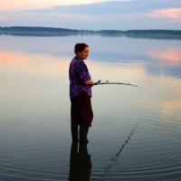 Рыбалка, как искусство. :: Sergey Baranov
