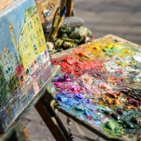Жизнь он раскрашивал яркими красками :: Ирина Данилова