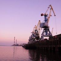 речной порт :: александр кайдалов