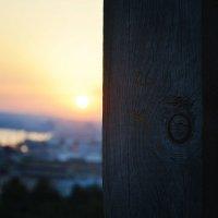 Ещё из серии заката солнца в Баку. 2013 год :: Эрик Делиев