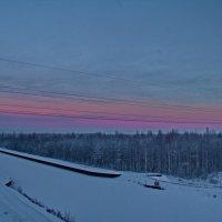 30 декабря, закат над Кишемским каналом :: olgaborisova55 Борисова Ольга