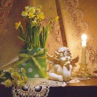 А мартовский ангел великий мечтатель... :: Валентина Колова