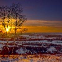 Заход солнца :: Анатолий Иргл