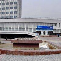 На площади Ленина -Облтелеком в Гомеле-панорама :: yuri Zaitsev