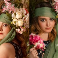А у нас весна в стиле Альфонса Мухи!!! :: Юлиана Коршунова