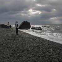Серебрянный пляж. :: Александр *