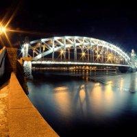 Большеохтинский мост :: Павел Максимов