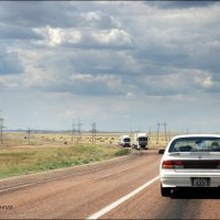 Люблю я Казахстан, страну мою. :: Anna Gornostayeva