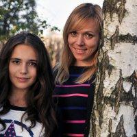 Мама и дочка :: Андрей Куприянов