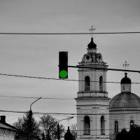 Дорога к Храму всегда открыта... :: Владимир Волик