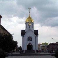 Часовня в самом центре России :: Михаил Андреев
