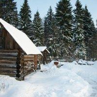 Баня в деревне :: Виктор Елисеев
