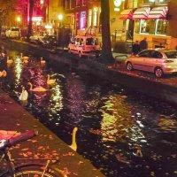 Улица красных фонарей. Амстердам. :: Евгения Кирильченко