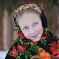 зимняя барышня :: Ольга Гребенникова