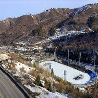 Высокогорный ледовый стадион «Медео». :: Anna Gornostayeva