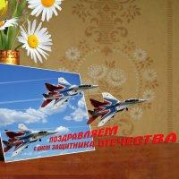 Тренировочный набросок открытки 23ф :: NICKIII Михаил Г.