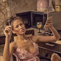 Кто целый день в телефоне? :: Sergey Lexin