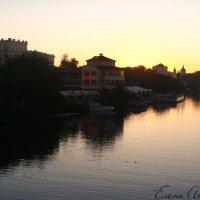 Вечер,река Цна... :: °•●Елена●•° Аникина♀