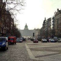 Вацлавская площадь в Праге (Чехия) :: Денис Кораблёв