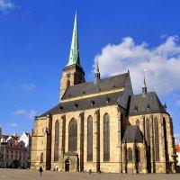 Собор Святого Варфоломея на пл. Республики в Пльзени (Чехия) :: Денис Кораблёв